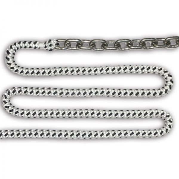 "Rode Kit 1/4"" SS Chain 1/2"" Rope"
